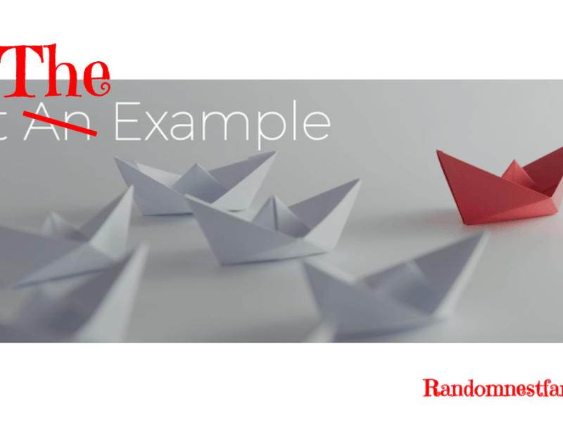 Set the example image @randomnestfamily.org