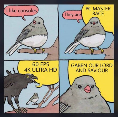 Its Not Easy Being A Console Player RandomOverload