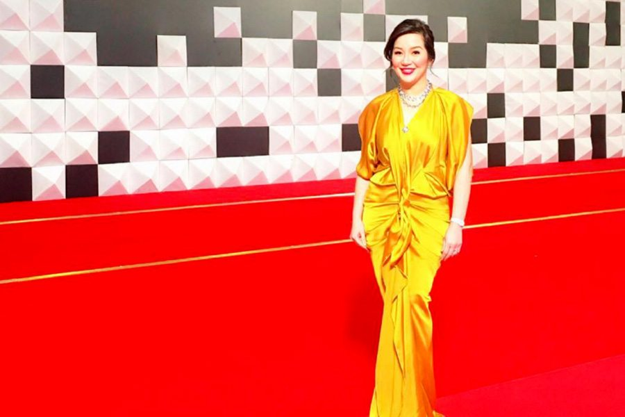 Kris Aquino and Her Yellow Gowns at the APEC 2015 Red Carpet ...