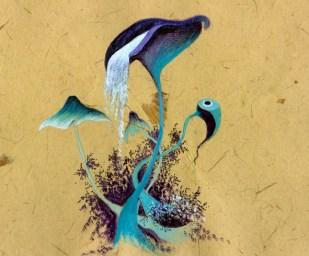 mushroom blue