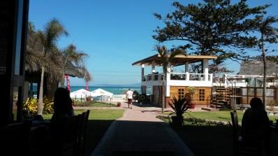 View across San Juan Surf restaurant/cafe