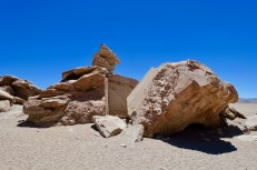 Interesting rocks at the Arbol de Piedra