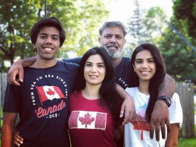 Ashir Azeem WITH FAMILY