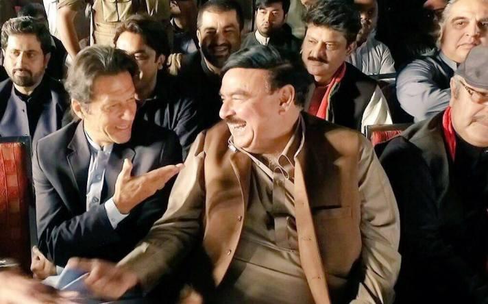 Imran Khan and Sheikh Rashid