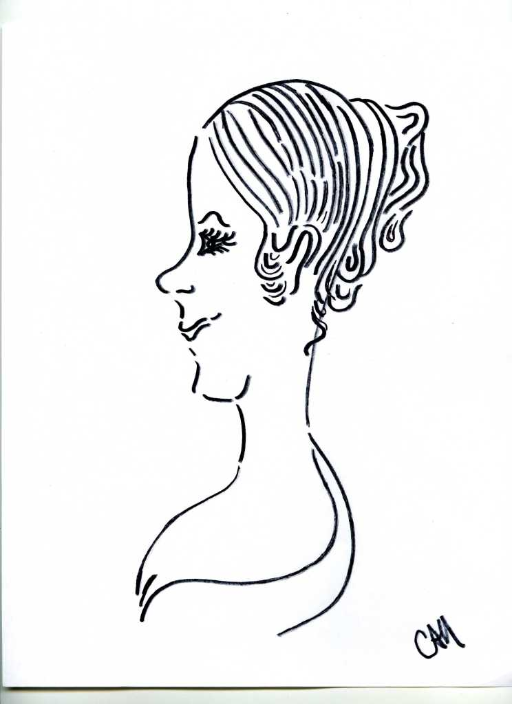 caricature-of-Peggy-Eaton-by-catherine-hamrick