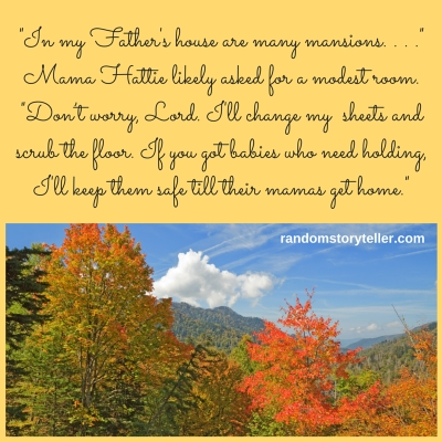 Quote-from-Good-Night-Mama-Hattie-randomstoryteller.com-shows-image-of-Appalachian-Mountains-in-fall