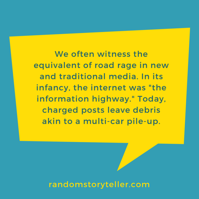 quote about internet road rage from randomstoryteller chamrickwriter
