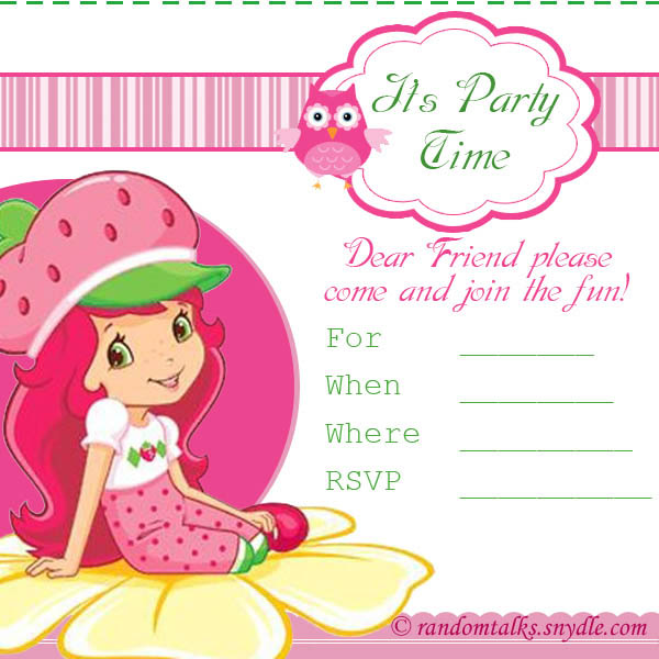 Ready Print Invitations