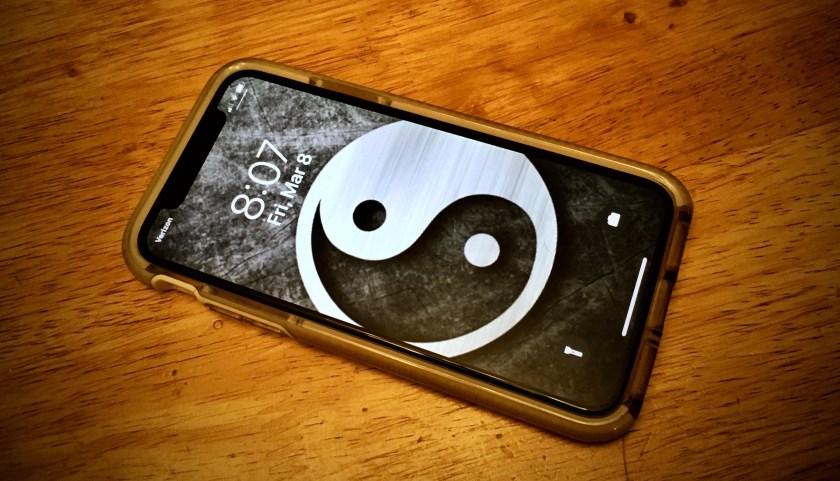 Yin Yang Cell Phone