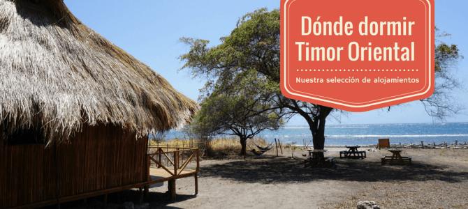 Alojamientos Timor Oriental