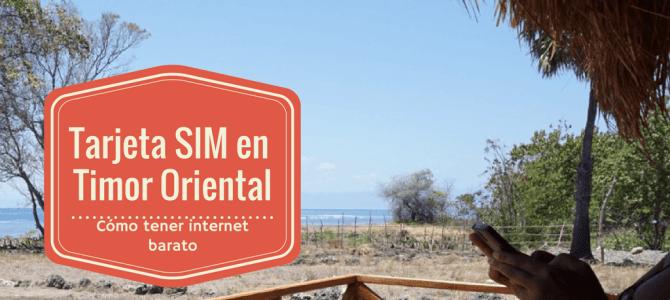 Tarjeta SIM en Timor Oriental: Cómo tener internet en Timor