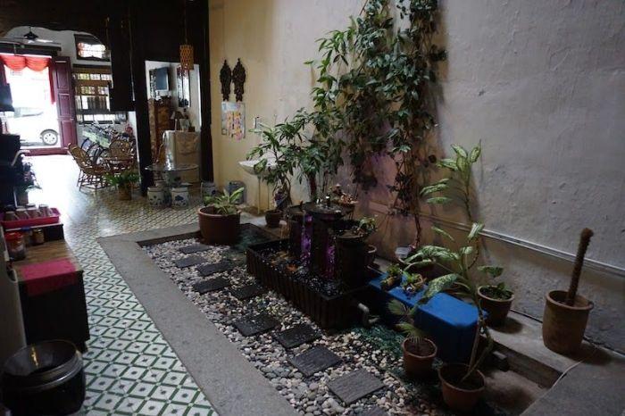 recepción muntri house homestay