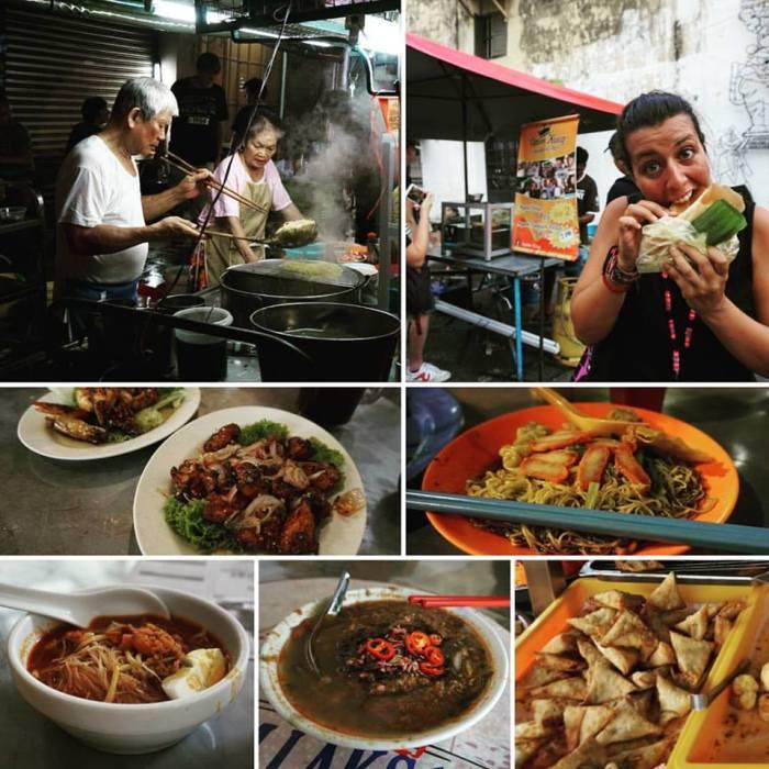 Street Food en George Town