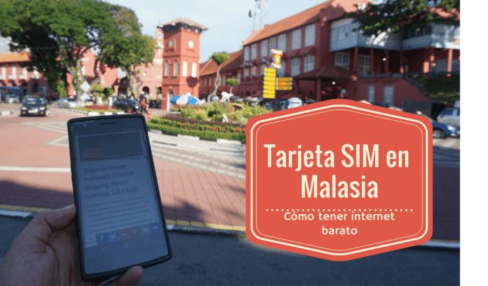 Tarjeta SIM Malasia con internet para tu smartphone