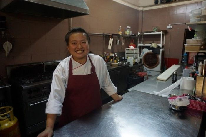 Davine, chef de D'Chef Dining
