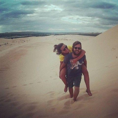 Las dunas en Mui Ne, uno de los atractivos de la región.