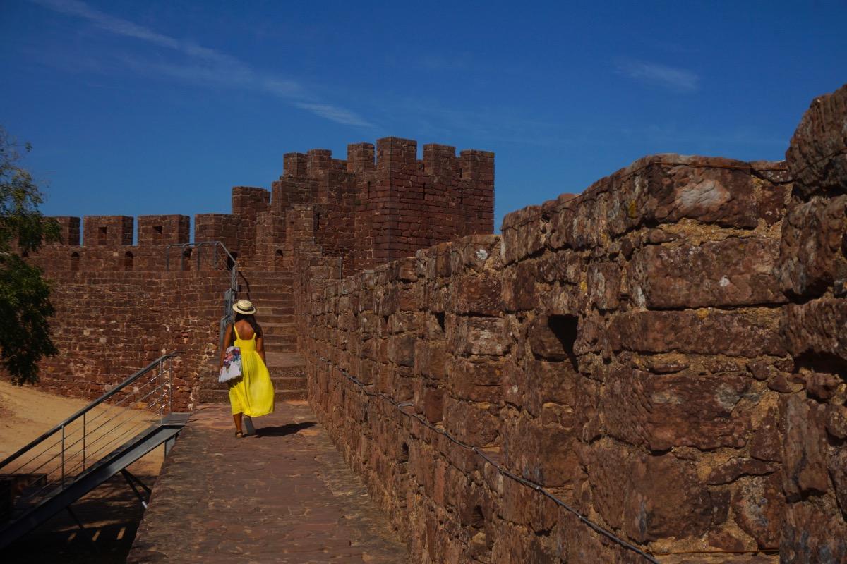 Paseando por el Castillo de Silves
