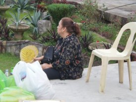 Meet Mommy Eve in a side-view. :D She's the one who encouraed me to join Pintados
