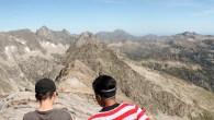Au sommet du pic d'Estaragne