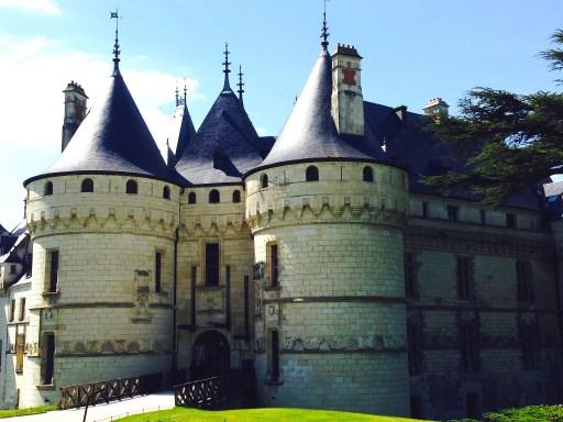 château de Chaumont sur l'itinéraire de la Loire à Vélo
