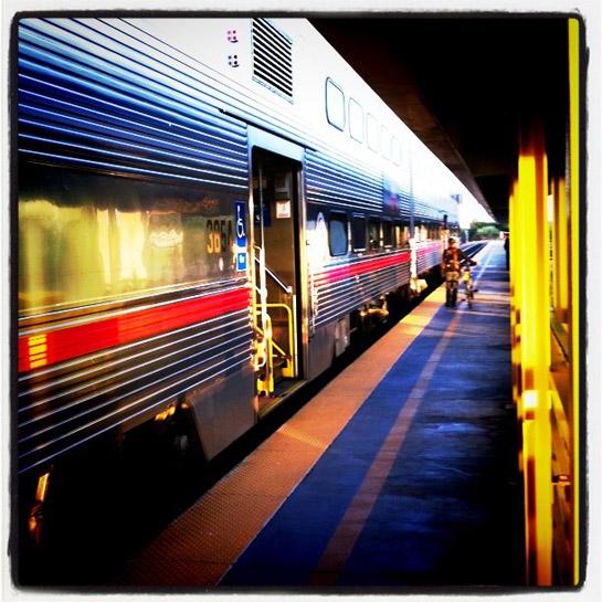 Yellow train ride