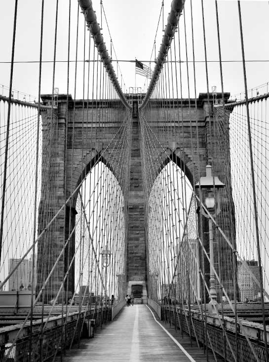 Brooklyn Bridge Symmetry