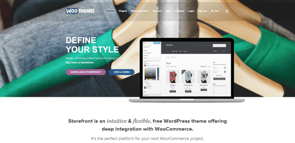 Building an Online Store with WooCommerce - Themes
