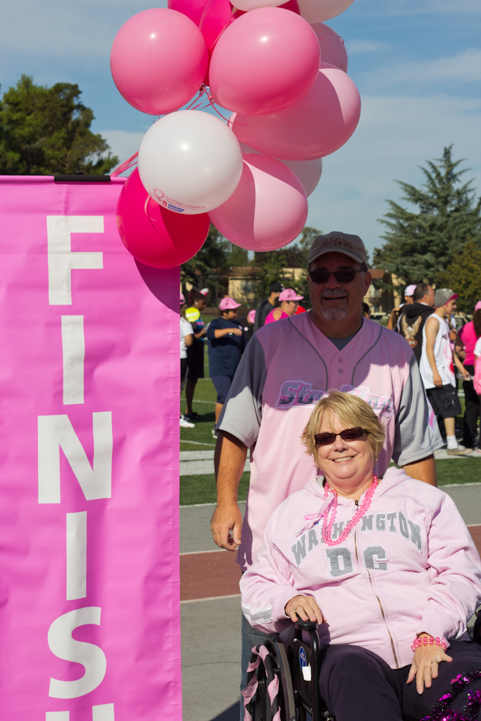 Cancer Walk 2013 Finish