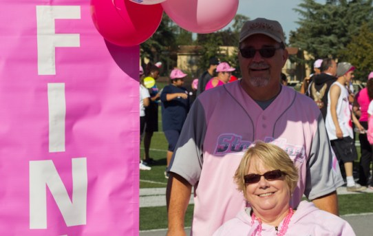 Wheels and The Pusher Walk to Increase Breast Cancer Awareness
