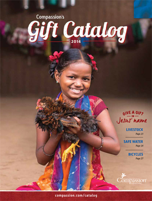 Compassion Gift Catalog cover