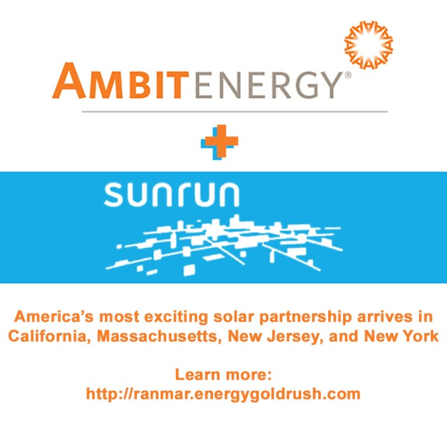 Ambit Energy plus Sunrun