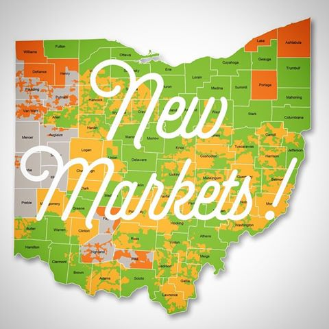 New markets Ohio