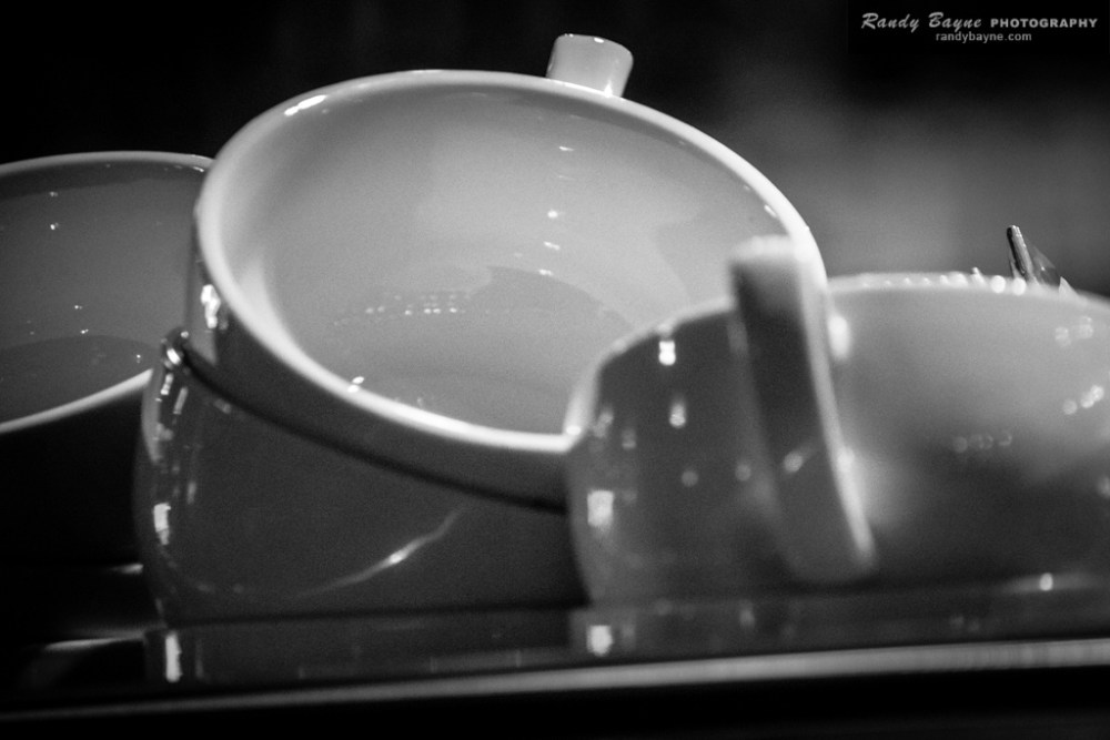 Clean coffee cups