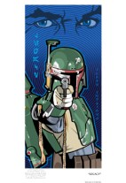 Official Star Wars Fine Art Print: Boba Fett Legacy