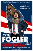 And then, Dan chose Chewbacca as his running mate!