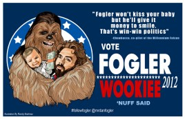 And Dans sone approved of Chewbacca!
