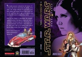 Star Wars Rebel Force: Book 2 Cover Illustration (Front and Back)