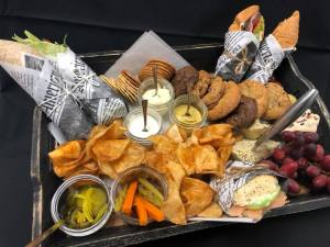 randy peters catering premium boxed lunch