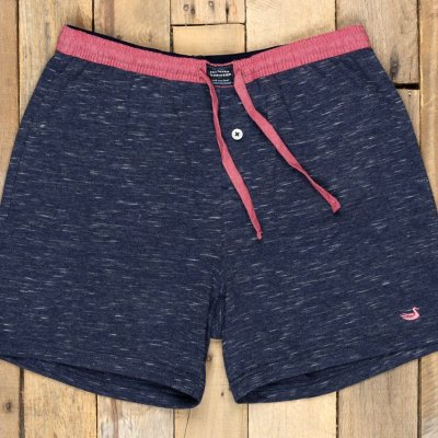 Southern Marsh Hearth French Terry Shorts, Washed Navy