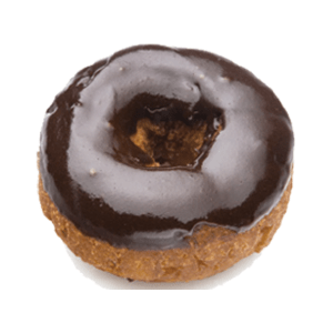 Randy's Chocolate Iced Cake Donut