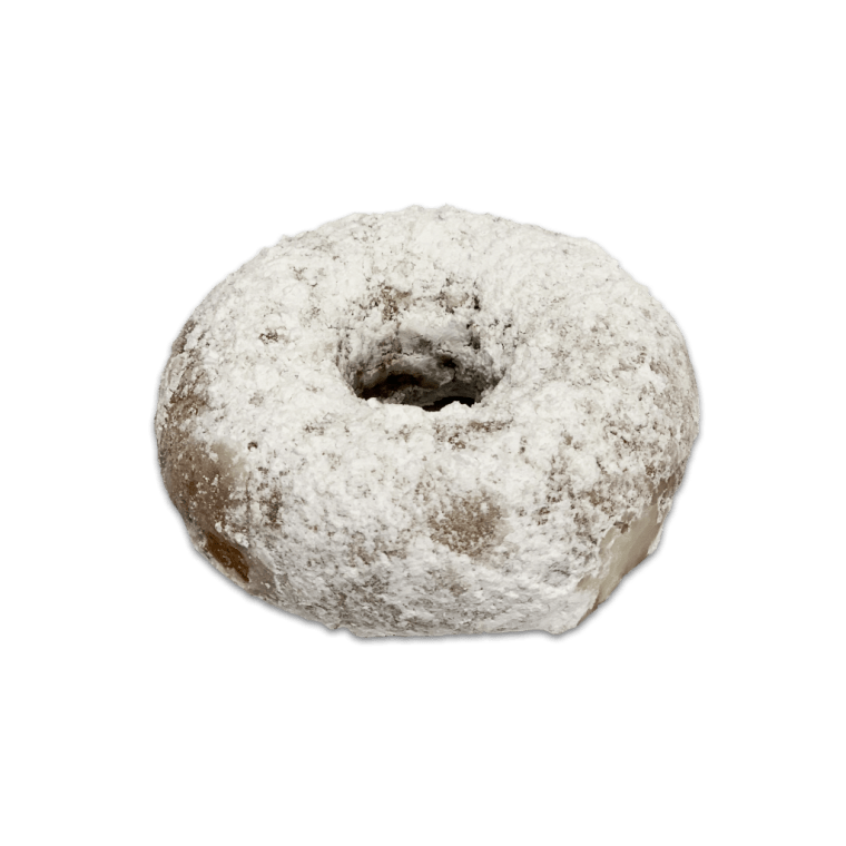 Randy's Powdered Sugar Cake Donut