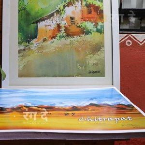 Chitrapat-handmade-Paper-270gsm-by-Rang-De-Studio,-bangalore
