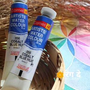Buy camlin artist watercolour coblat blue share online from Rangde Studio