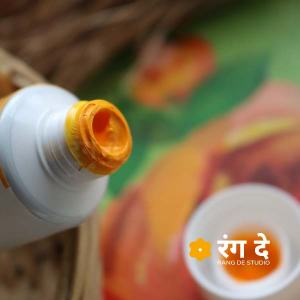 Buy Camlin Permanent Yellow Artists Acrylic Colours Online from Rang De Studio