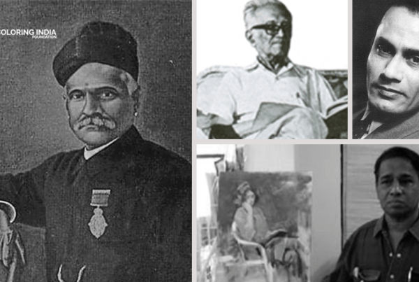 Famous Indian Oil Painting Artists