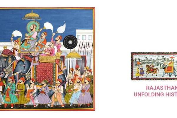 RAJASTHANI-PAINTINGS--UNFOLDING-HISTORY--PART-1_Coloring-India-Foundation