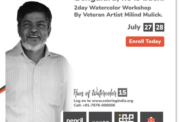 Watercolor Workshop by Milind Mulick - Hues of Watercolor 15