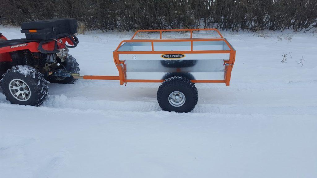 Utv Trailer Axles : Rr atv utv single axle dump trailer range road
