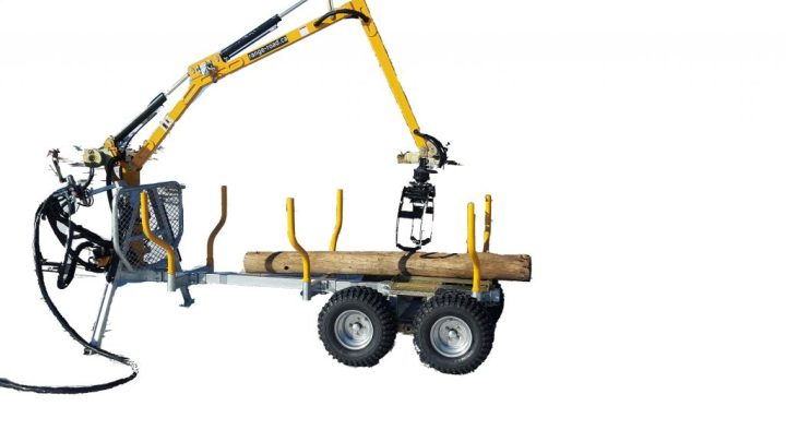 RR700 Hydraulic Forwarder Trailer