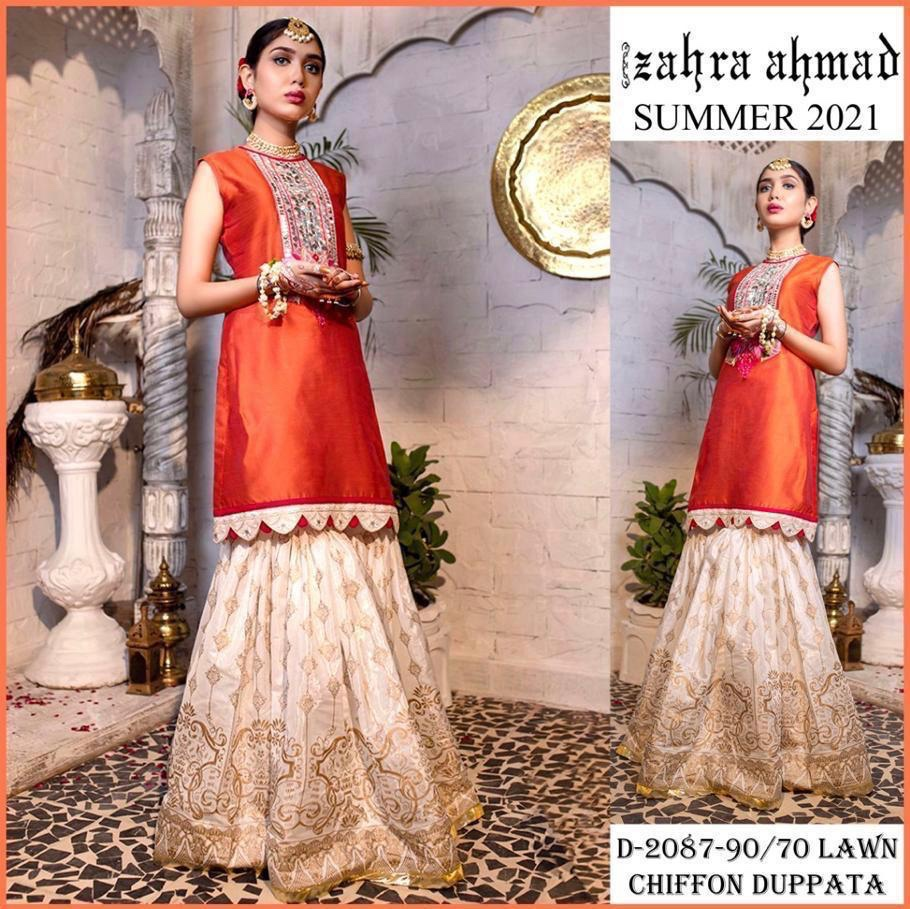 zahra ahmad dresses